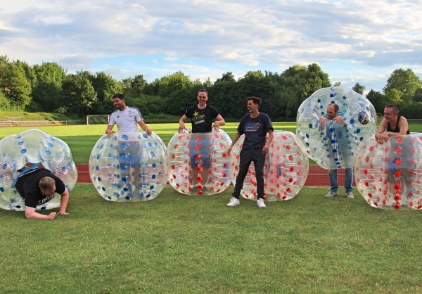 Junggesellenabschied Bubble Soccer